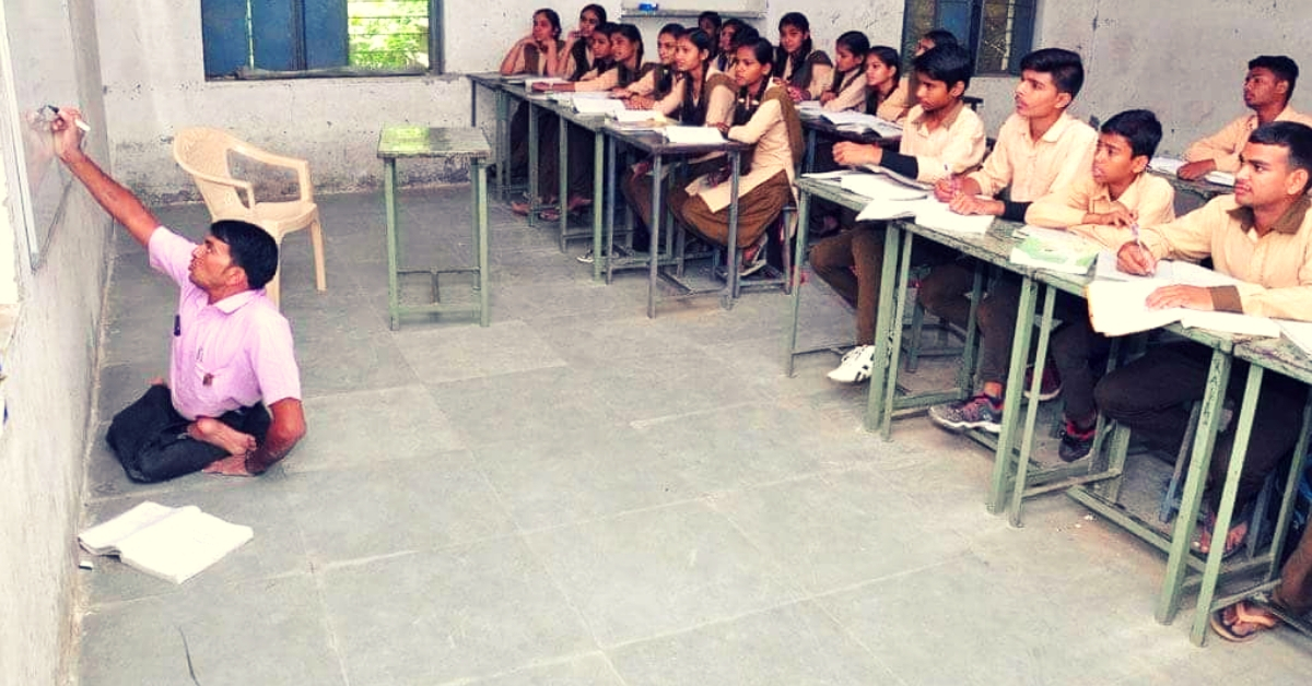 Need an Inspirational Teacher? Viral Picture from Rajasthan Will End Your Search