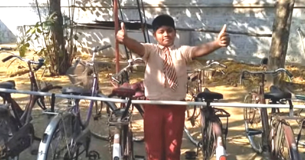 This Simple DIY Solution Built By TN School Kids Will Help You Cycle to Work!