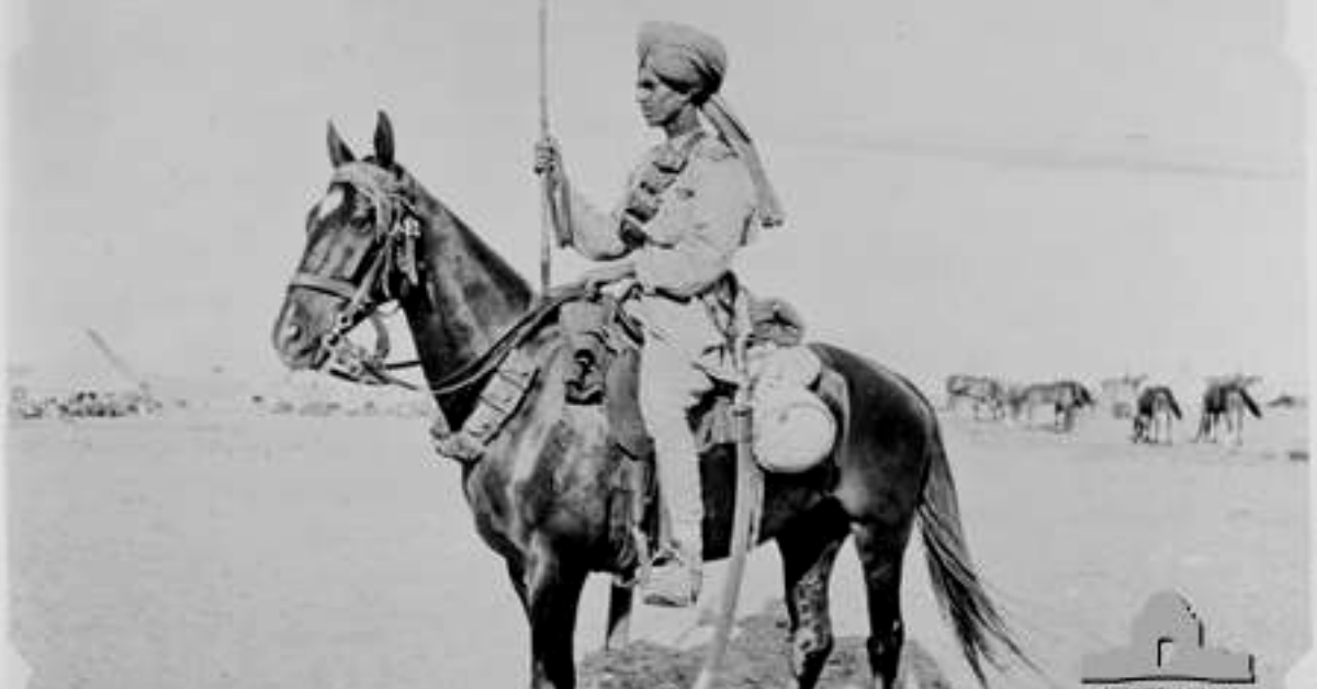 Why Do Israel's Textbooks Have Lessons on Indian Soldiers? An Amazing Tale from WW1!
