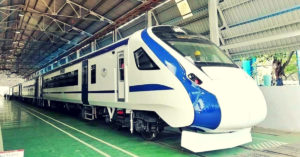 India's 1st Engine-Less Train to Hit the Tracks on Oct 29_ Check out Its Swanky Look