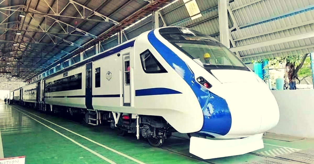 India's 1st Engine-Less Train to Hit the Tracks on Oct 29: Check out Its Swanky Look