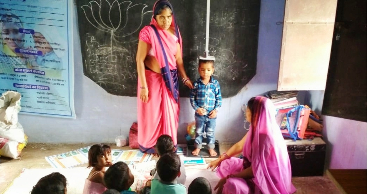 Malnutrition continues to be a problem throughout India. Image Credit: Tata Trusts