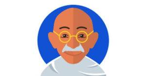 On the occasion of Gandhi Jayanti, Twitter has launched an emoji in the Mahatma's honour. Image Credit: Rohit Chauhan