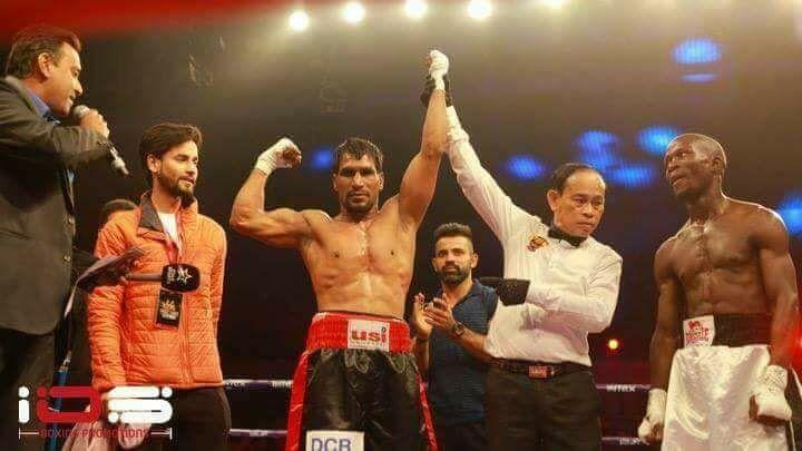 Rajesh Kumar Kasana emerging victorius. (Source: Facebook)