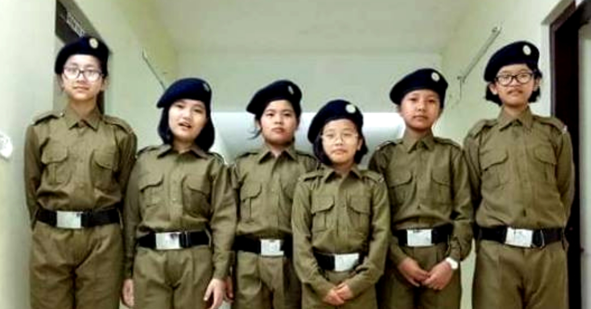 History Created in Mizoram: For the First Time, Girl 'Cadets' March into Sainik Schools!