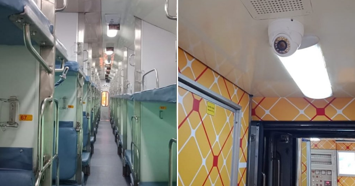 The Ranchi Rajdhani, which underwent a makeover. Image Credit: DRM Ranchi
