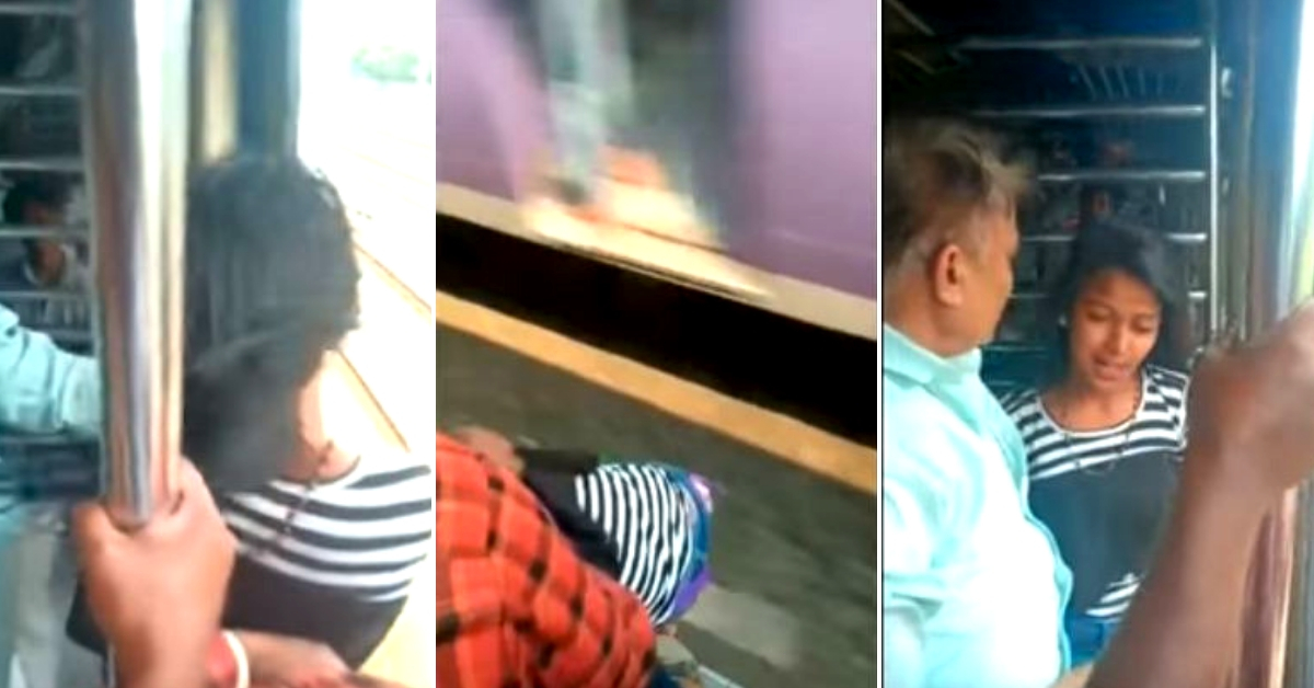 Watch: Lightning Quick Mumbai Local Commuters  Rescue Teen From Certain Death