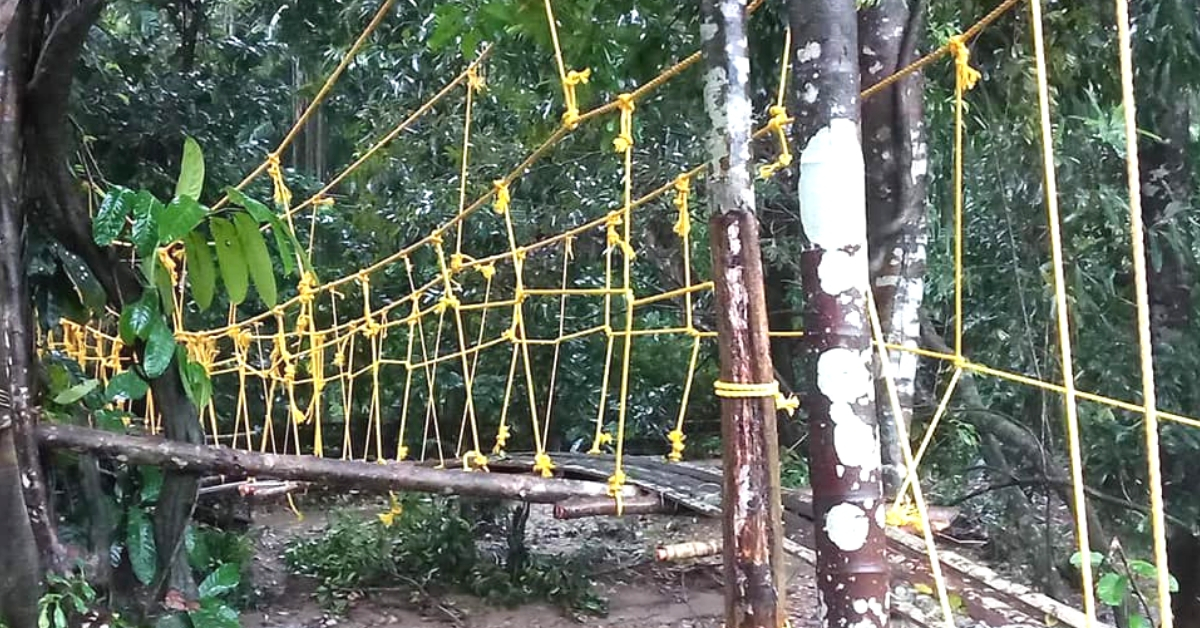 K'Taka Man Uses All His Savings, Builds Bridge in Village So Kids Can Go To School!