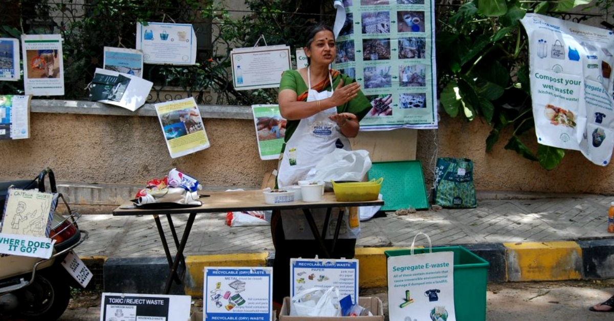 Bengaluru Eco-Warrior's Unique Dasara Golu Shows 7 Steps to 'Swachh Graha'!