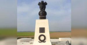 Villers-Guislain, a town in France, with an Indian Army war memorial. Image Credit Shantanu Rai