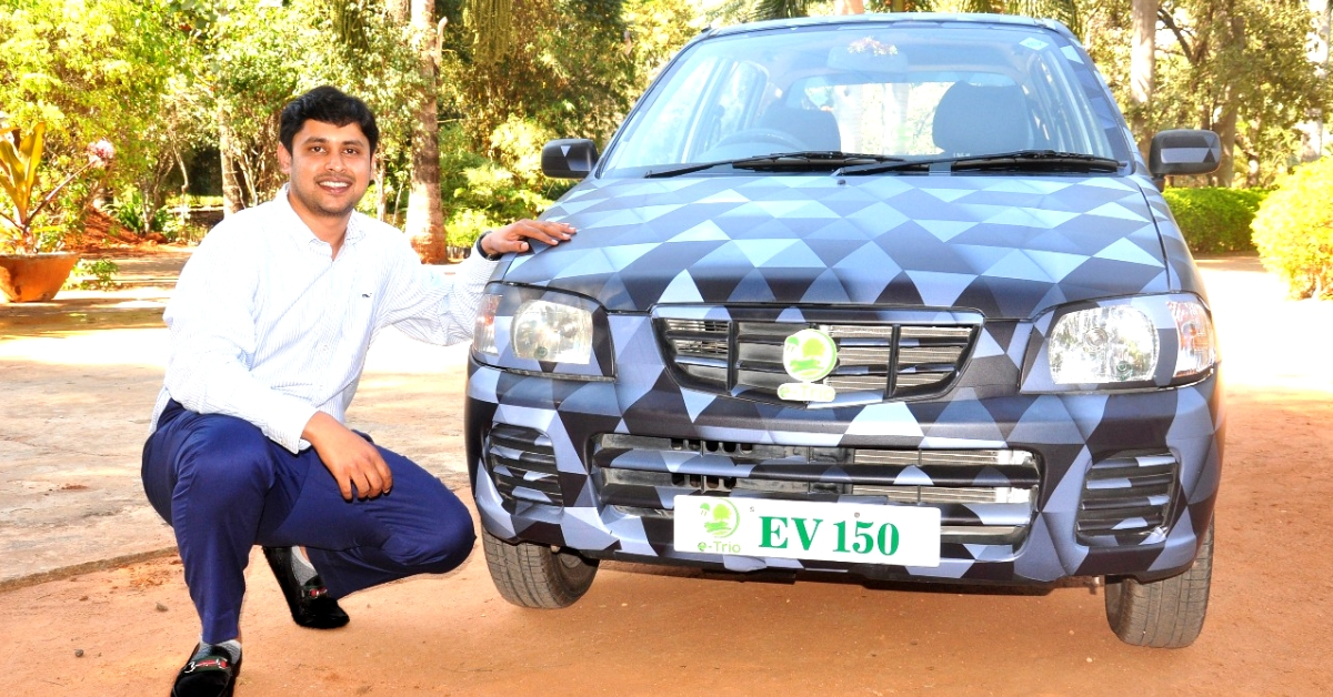 Exclusive: Meet India's First Startup That Can Switch Your Car From Fossil Fuel to Electric!