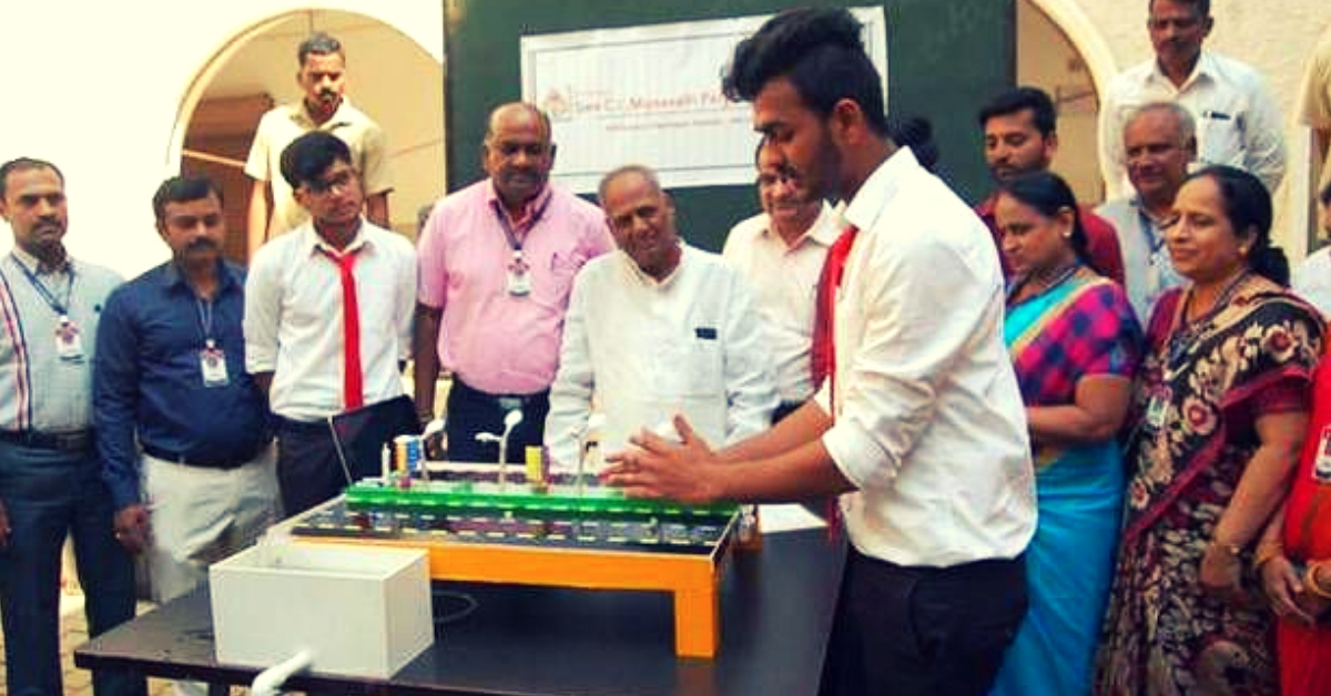 Karnataka Students' Innovation Uses Rainwater to Generate Electricity From Highways!