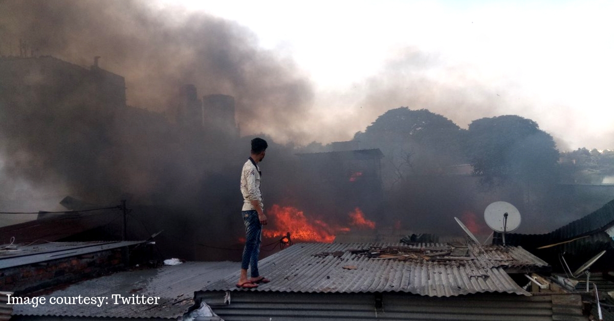 Pune Slum Inferno: Citizen Heroes Battle Flames, Explosions to Save Lives