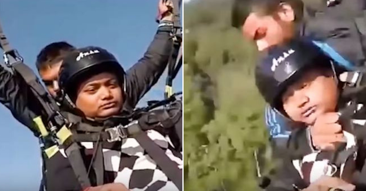 Hero Paraglider Dies Saving Tourist's Life After Parachute Cord Snaps Mid-Air