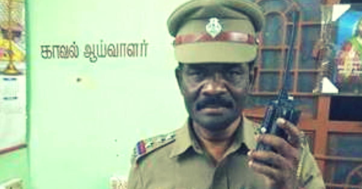 Chennai Cop's Special Poetry Gives Night Patrols The Extra Boost They Need!