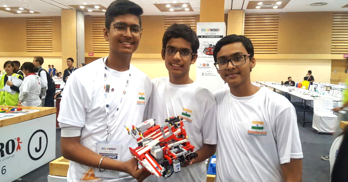 Gurugram Teens Build Robot That Could Solve India's Waste Problem, Win Global Prize!