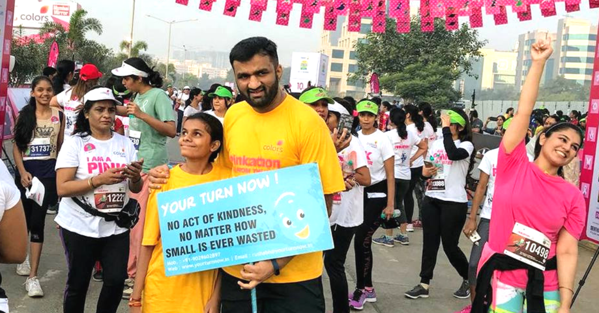 Inspiring! This Mumbai Man Celebrated His 40th B'day With 40 Acts of Kindness