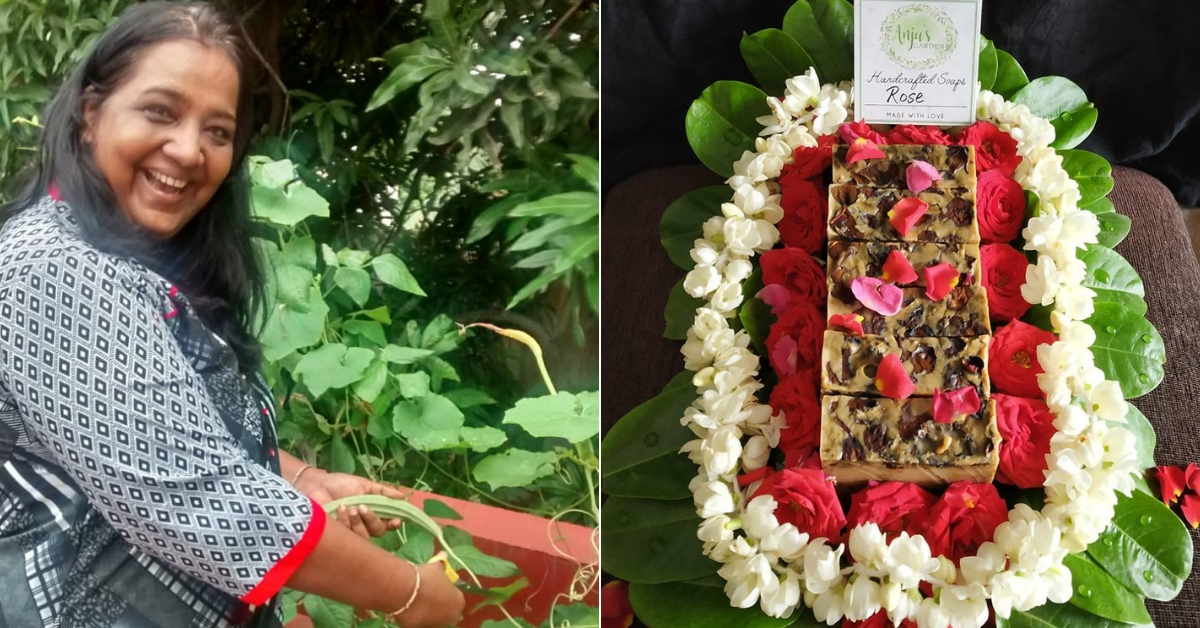 Growing 50+ Veggies & Fruits at Home, Chennai Woman Makes Her Own Organic Soaps!