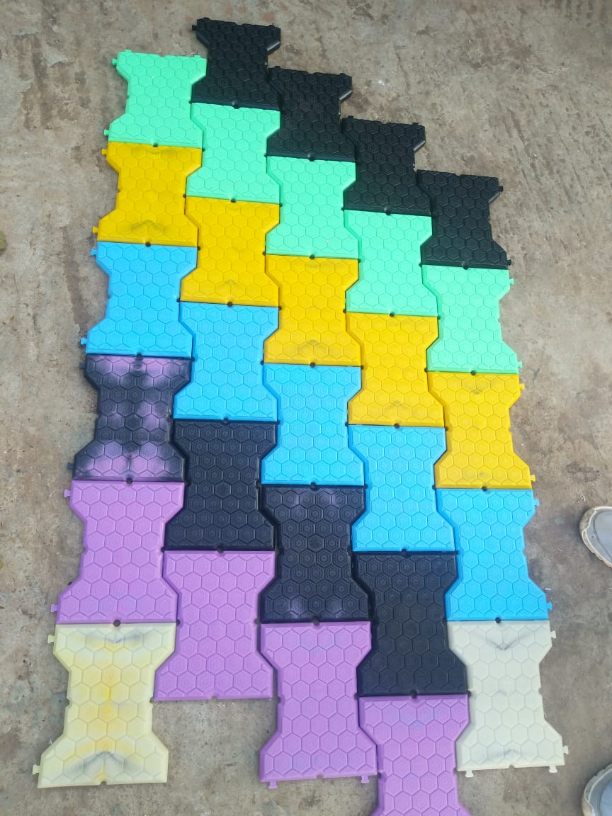 Tiles in different colours. (Source: Swachha)