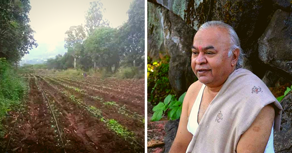 Pune Doc Retires and Sells Affordable Organic Veggies, Wants Us All to Be Healthy!