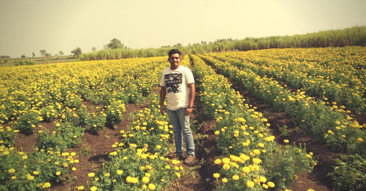 As an engineer, he earned ₹6.5 Lakh. As a farmer, ₹20 Lakh!