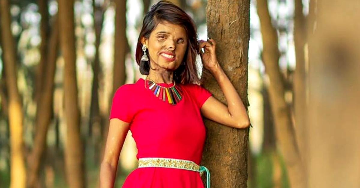 Burnt By Her Dad, Here's How This Acid Attack Survivor Made Fashion Her Calling