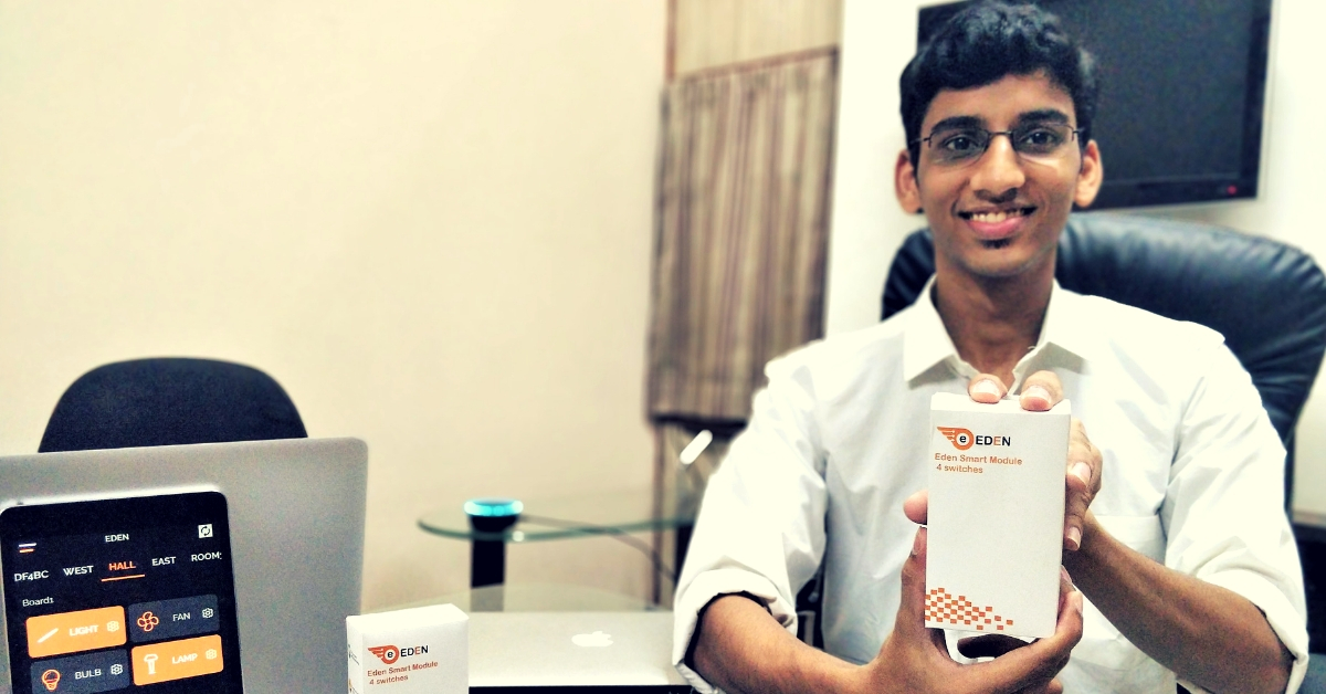 IIT Student's Low-Cost Solutions Can Turn Your Home Into a Fully Automated Smart One!