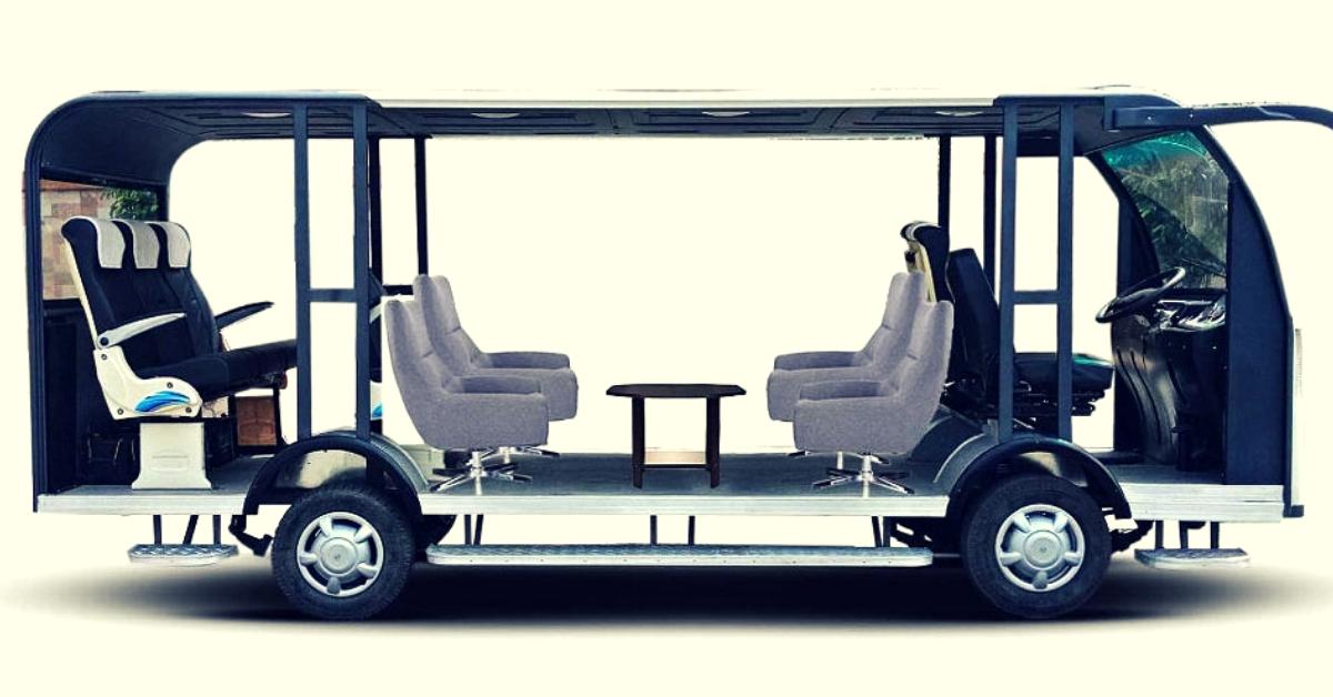 Punjab Varsity Students Make India's First Driverless, Solar-Powered Bus at Just Rs 6 Lakh!