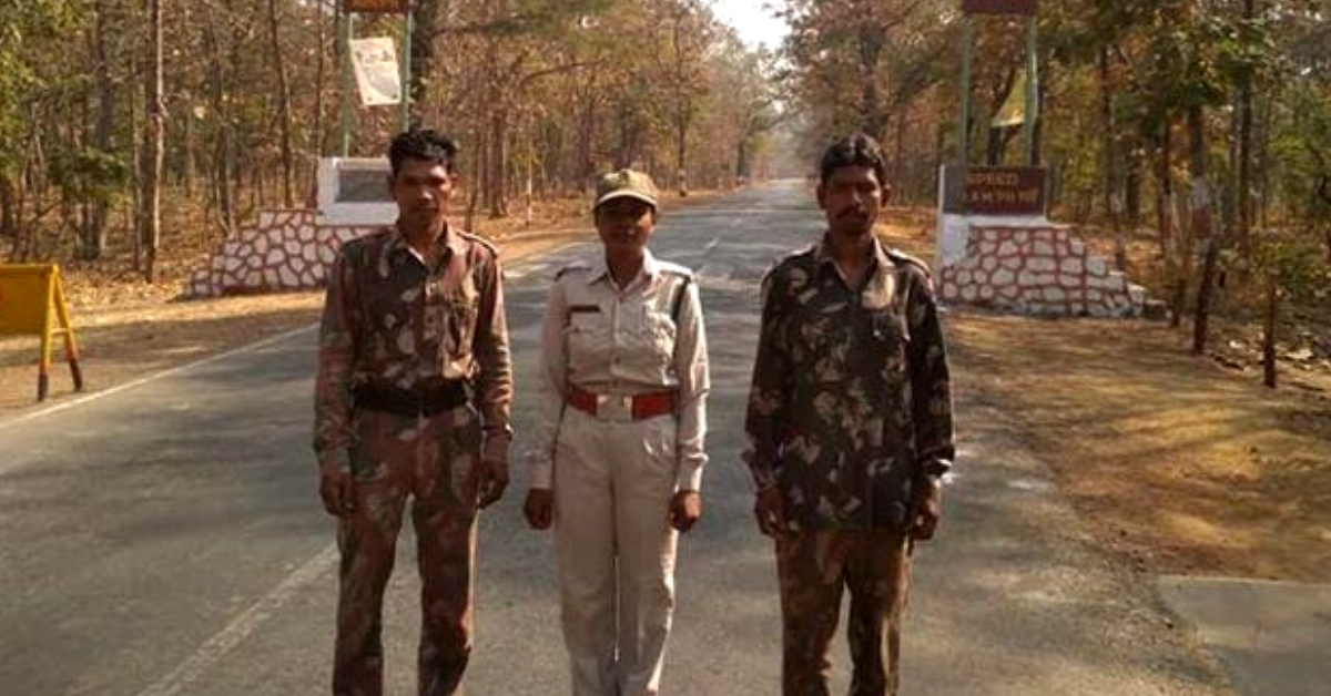 Forest Guard Stands in Front of Tiger for 1.5 Hrs, Saves 3 Lives with Her Presence of Mind!