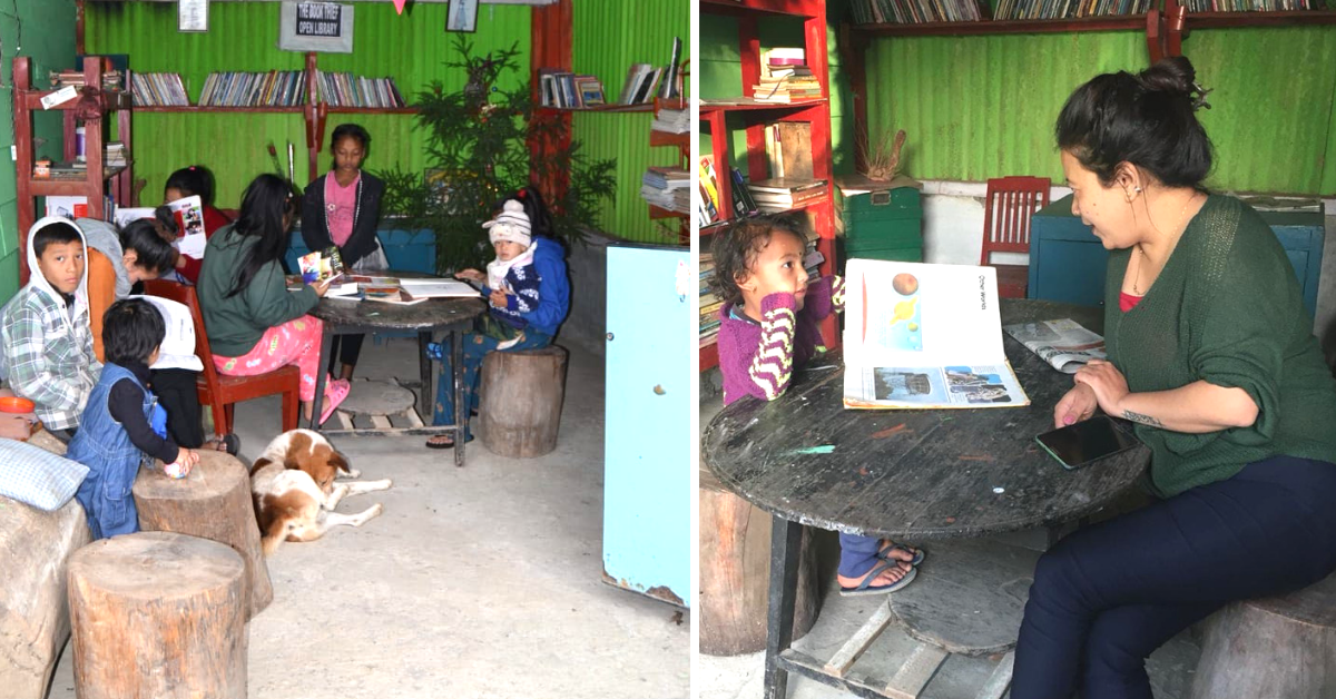 A Darjeeling Woman is Encouraging Kids to Steal Books – For a Very Special Reason