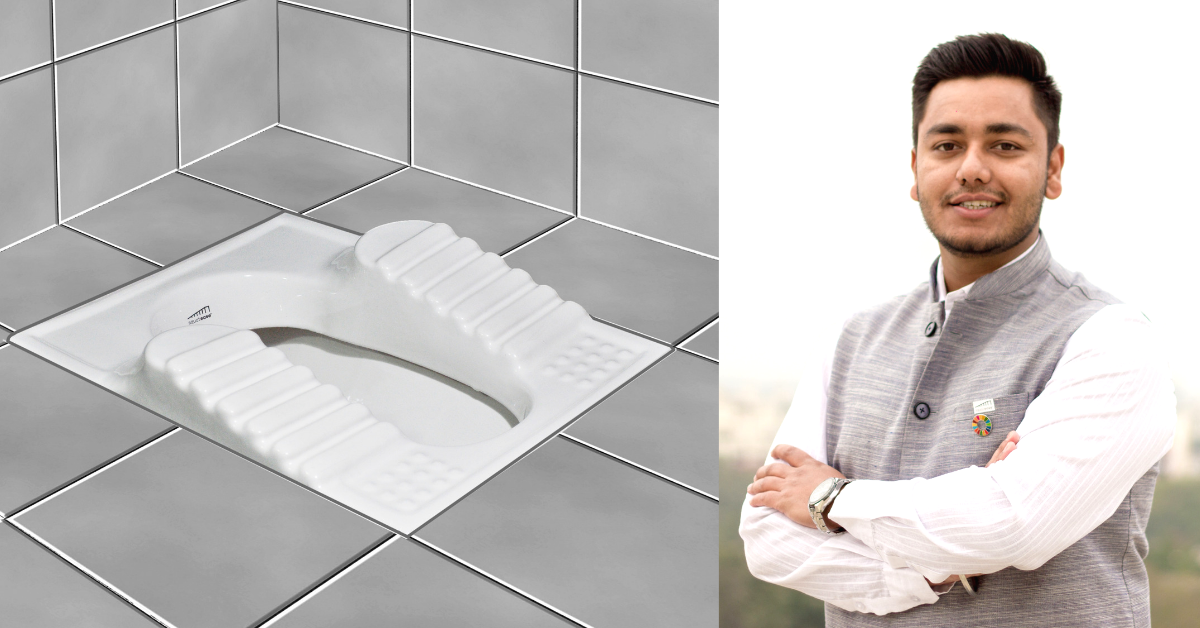 26-Yo's Brilliant Innovation Makes Using the Indian Toilet Easy & Pain-Free for the Elderly!