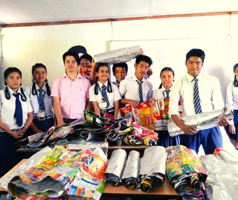 Sikkim School Teacher Earns Money From Waste, Sponsors Education of Village Kids!