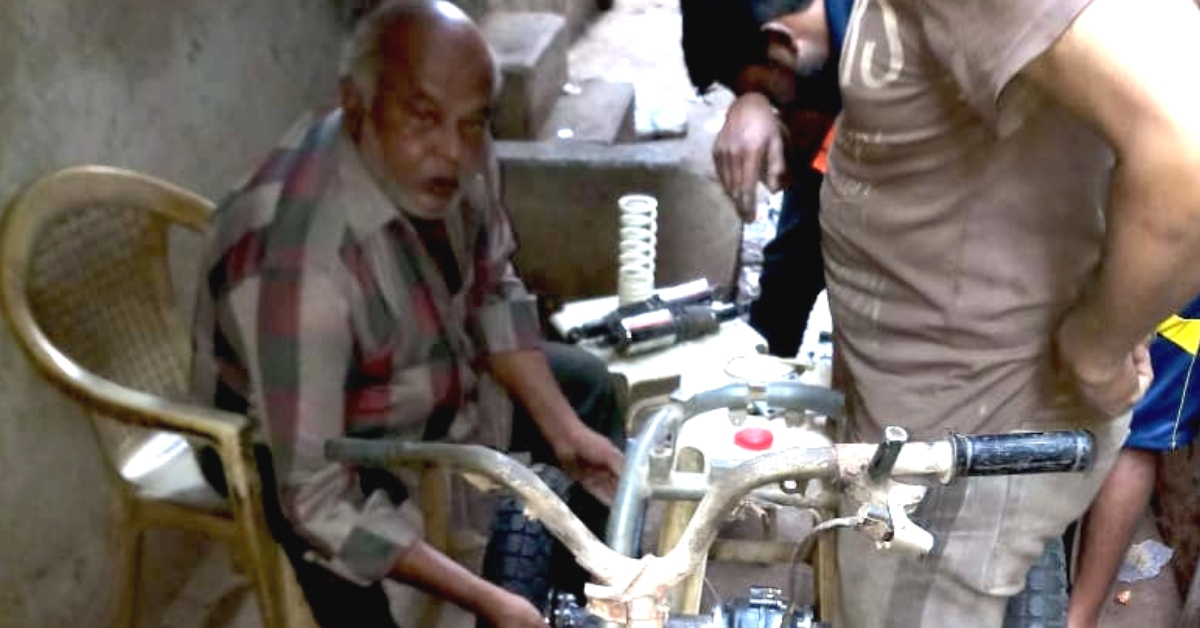 60-YO Differently-Abled Surat Man Sets Example, Makes E-Bikes From Upcycled Waste