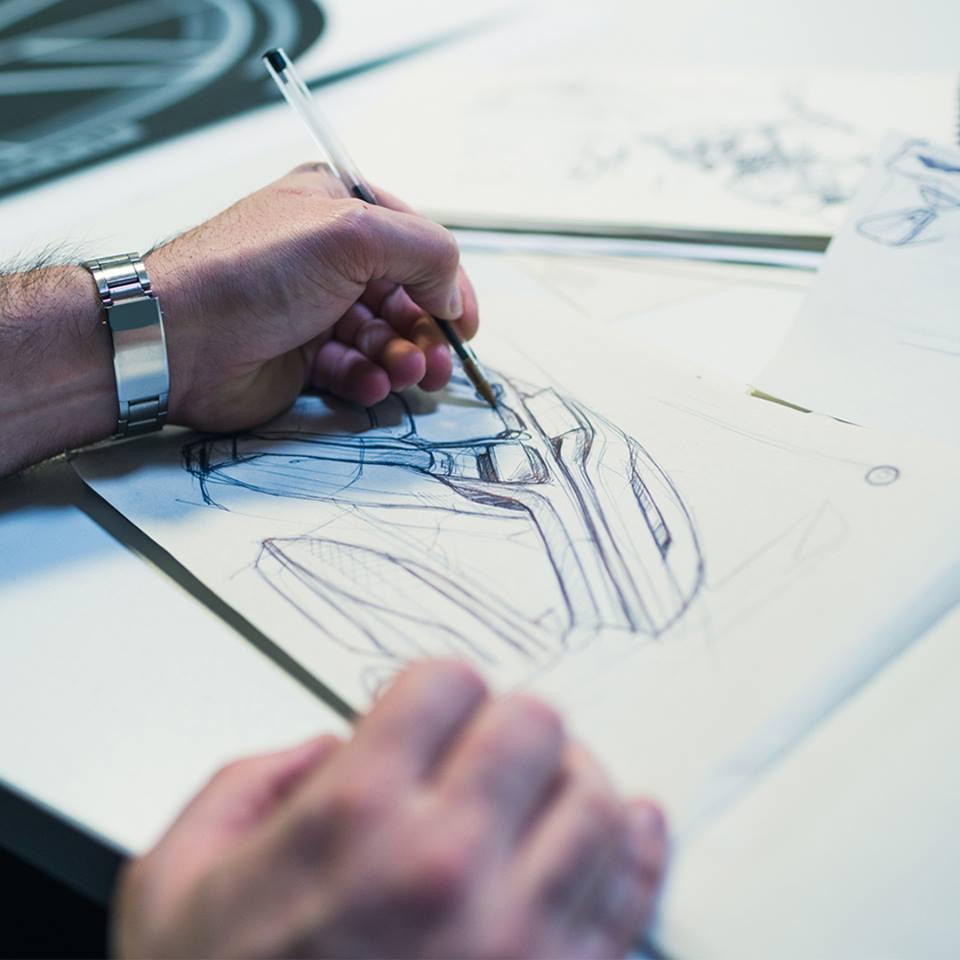 Intricate design work went into the construction of the Battista. (Source: Automobili Pininfarina)