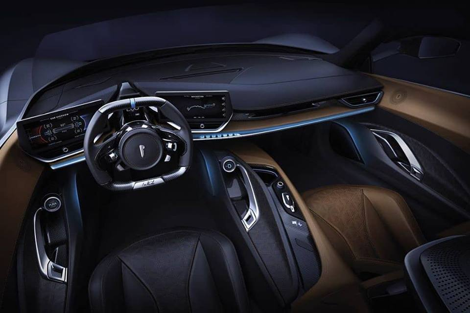 Automobili Pininfarina Battista Interiors