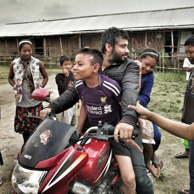 Bipin Dhane: From serving a corporation to serving the children of Majuli.