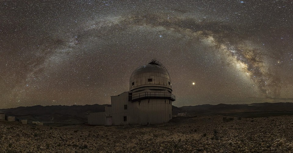 The Indian Astronomical Observatory at Hanle, Ladakh. (Source: Dorjey Angchuk)