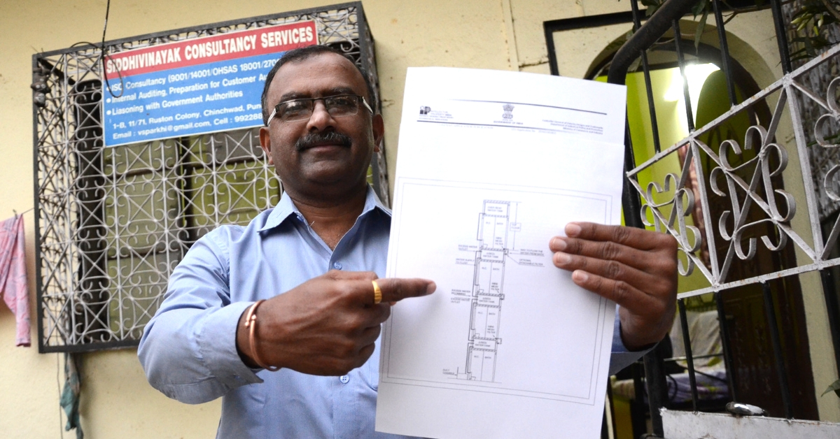 Pune Man Wins Patent for Brilliant Model That Can Recycle 20% Water in Apartments!