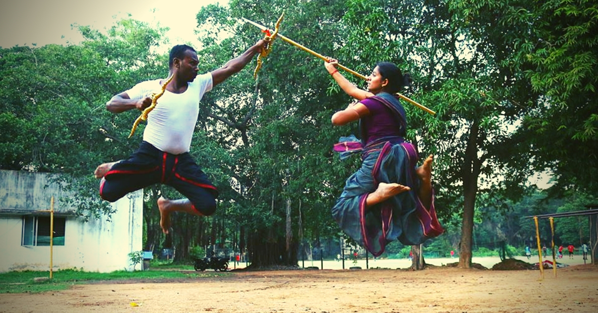 30-YO Silambam Artist Slashes Gender Stereotypes, Has Won 4 Golds For India!
