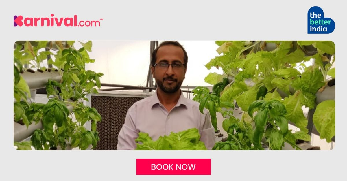 Mumbaikar Quits Singapore Job to Grow Soil-Less Food, Earns Rs 15 Lakh/Year Teaching Others