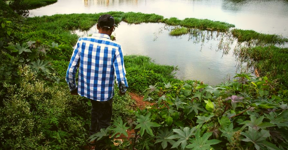 Working Weekends, B'luru Techie Has Singlehandedly Cleaned 14 Acres of a Lake!