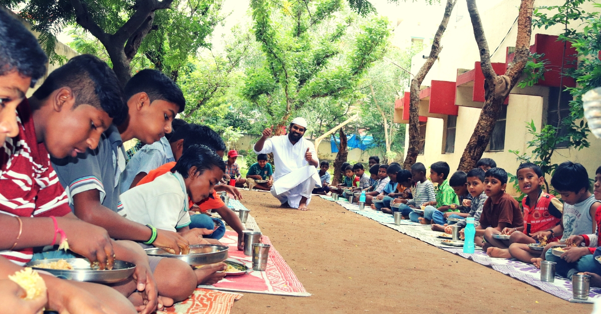 Hyderabad MBA Quits Job to Run Viral Food Channel, Feeds 1200 Orphans/Month!