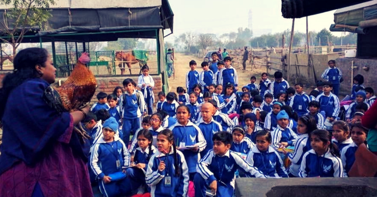 Lawyer Turns 20 Barren Acres into Lush Farm, Runs School for 140 Kids of Farmers!