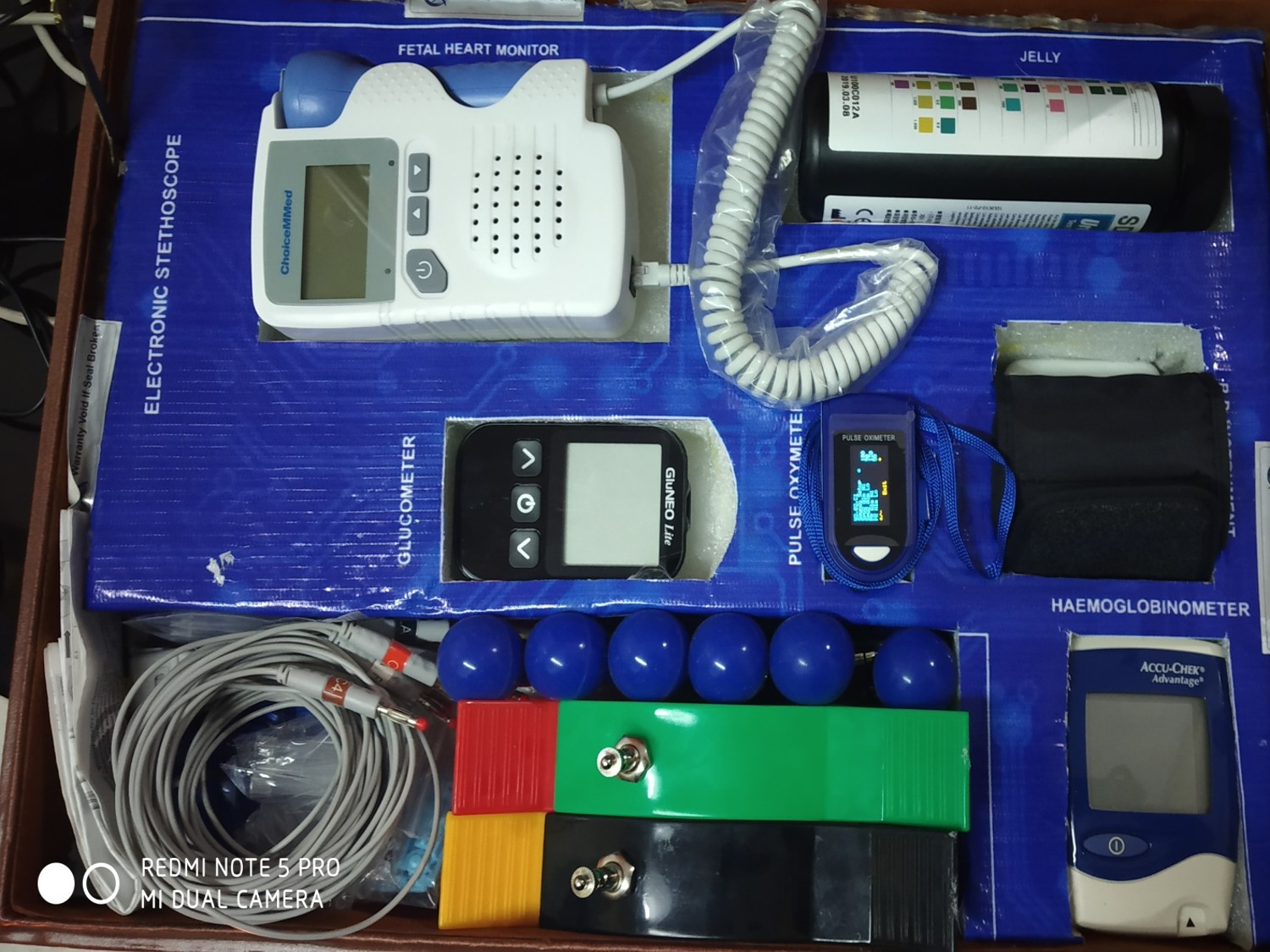 The kit given to every subcentre with 18 different kinds of equipment. (Source: District Admin/Tehri Garhwal)