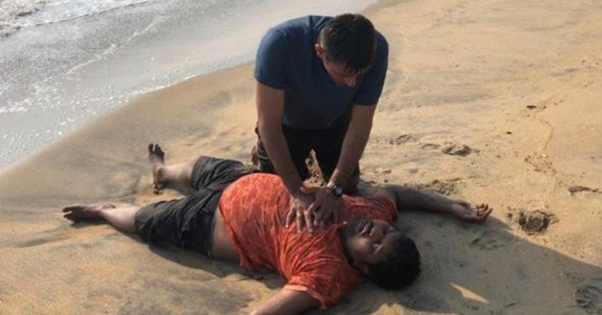 Exclusive: Meet the Hero Navy Officer Who Risked His Life to Rescue a Drowning Man!