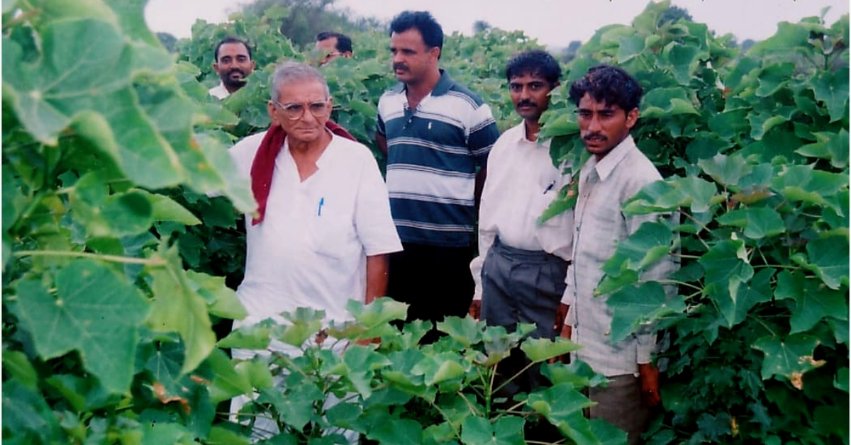 1 Cr Trees, 2500 Check Dams: How a Determined 86-YO Transformed 3 Gujarat Districts