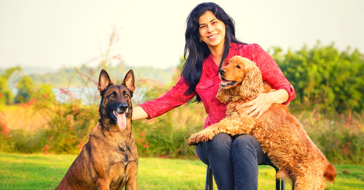 Asia's Leading Canine Trainer, Pioneering Mumbai Lady Grooms Dogs into Life Savers