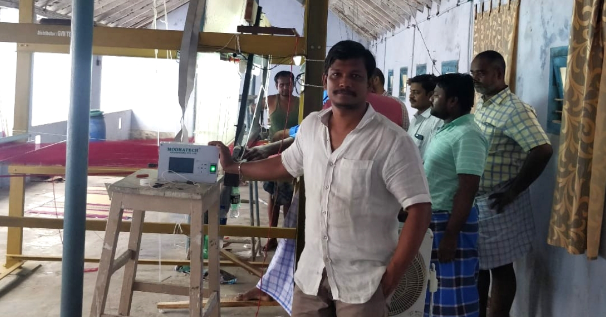 AP Man Toils For 14 Years to Build Innovation That Helps Weavers Save Time & Money!