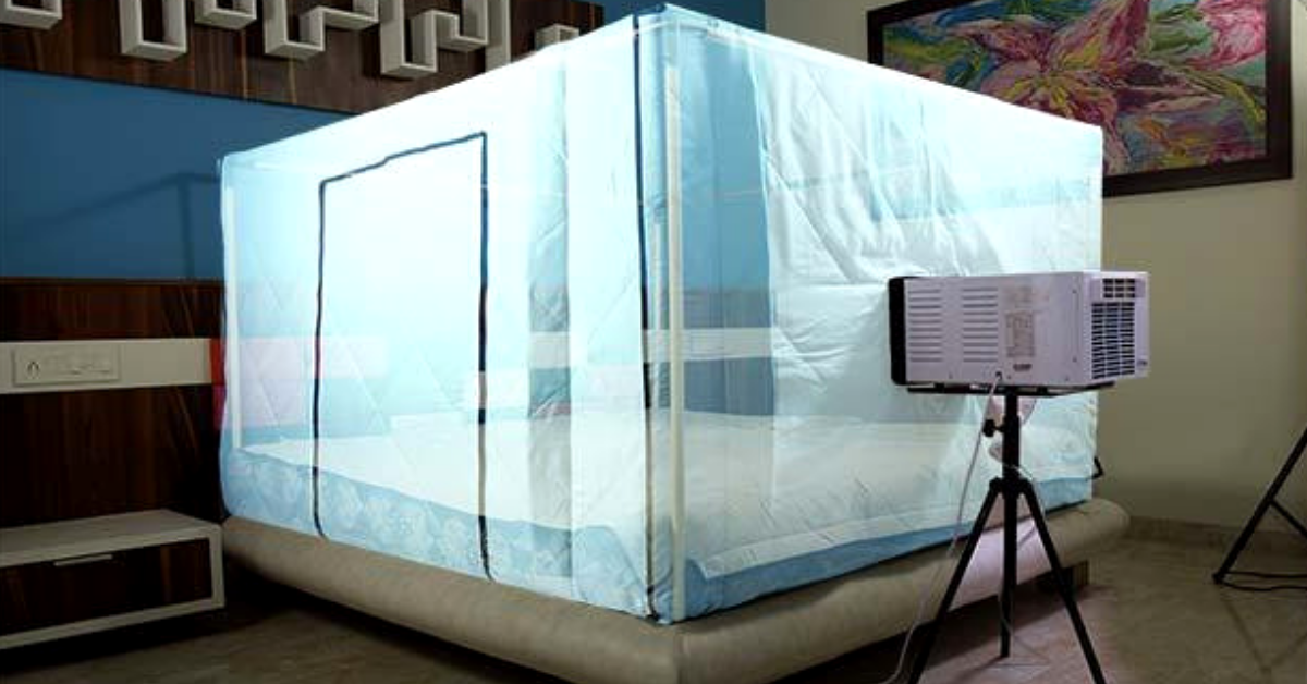 Cool Just Your Bed: New Innovative AC Uses 65% Less Electricity!