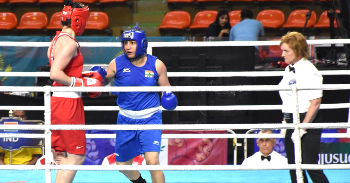 Haryana Girl Proves Dad Wrong, Punches Her Way to Gold at Asian Boxing C'ship!